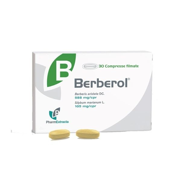 Pharmaextracta Berberol 30 compresse