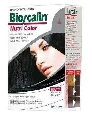 Giuliani Bioscalin Nutri Color 1 Nero Colorazione Permanente
