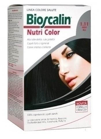 Bioscalin nutri color 1,11 nero blu sincrob 124 ml