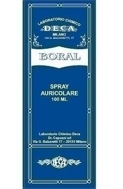 Boral spray auricolare 100 ml