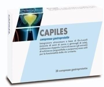 Capiles 20 compresse gastroprotette