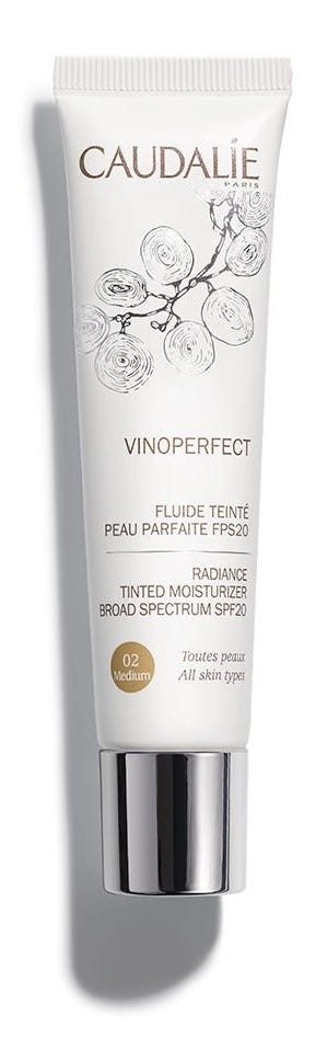 Caudalie Vinoperfect Fluido Colorato Pelle Perfetta spf20 02 40ml