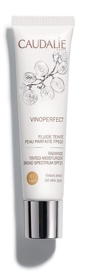 Caudalie Vinoperfect Fluido Colorato Pelle Perfetta spf20 01 40ml