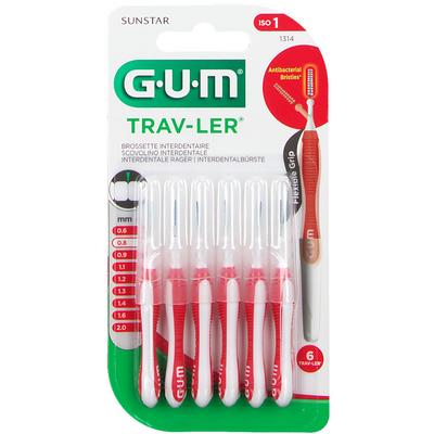 Gum trav-ler 0,8 scovolino promo 6 pezzi