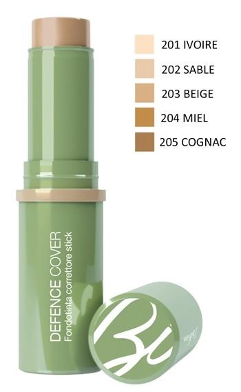Bionike Defence Cover Fondotinta Correttore Stick SPF30 201 Ivoire 10ml