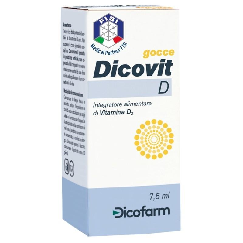 Dicofarm Dicovit D Vitamina D3 7,5 ml