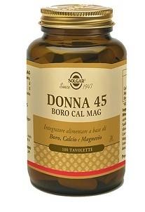 Solgar Donna 45 Boro Cal Mag 100 tavolette