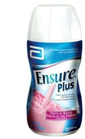 Abbotte Ensure Plus frutti di bosco 4x200 ml