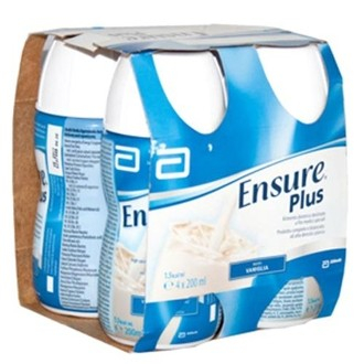 Abbotte Ensure Plus vaniglia 4x200 ml