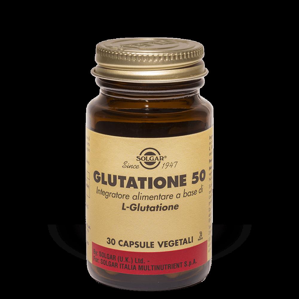 Solgar Glutatione 50 30 capsule vegetali