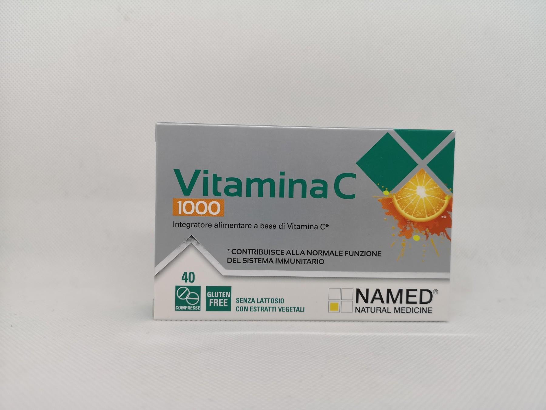 Named Vitamina C 1000 40 compresse
