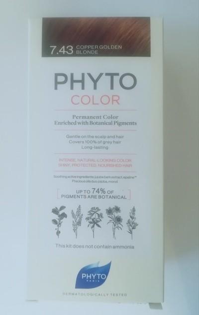 Phyto Color 7.43 biondo ramato dorato
