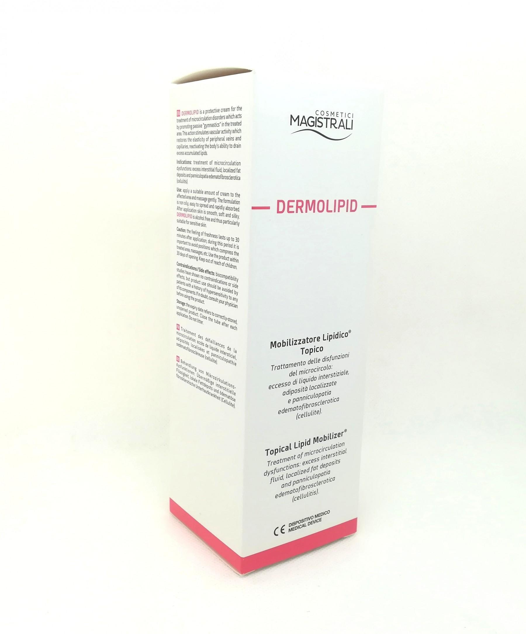 Dermolipid crema mobilizzatrice lipidica topica 200 ml