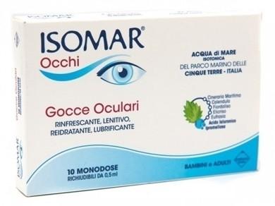 Isomar occhi gocce oculari all'acido ialuronico 0,20% 10 flaconcini