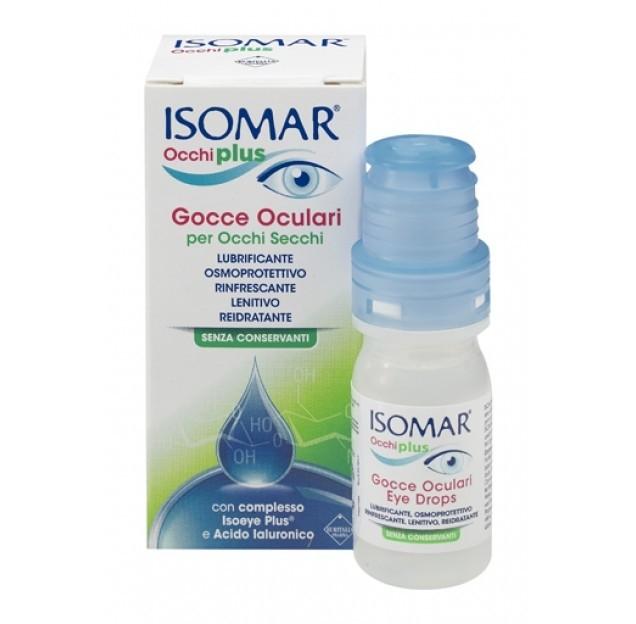 Isomar Occhi Plus Gocce Oculari AI 0,25% 10 ml