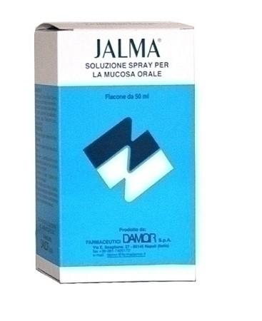 Jalma soluzione spray per la mucosa orale 50 ml con nebulizzatore