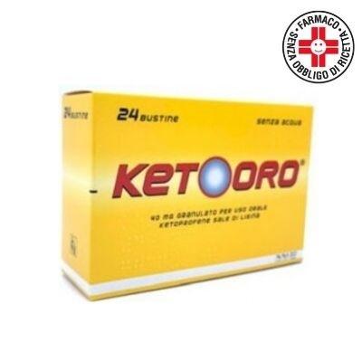 Ketooro 40mg granulato per uso orale 24 bustine