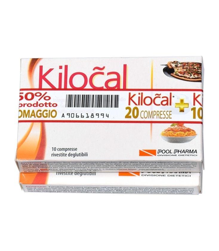 Pool Pharma Kilocal Integratore Alimentare 20 Compresse + 10 Omaggio