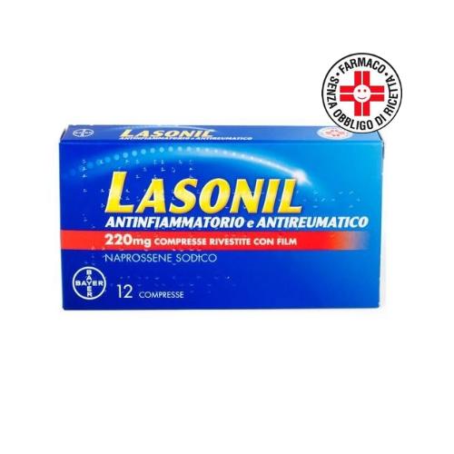 Lasonil antinfiammatorio e antireumatico 12 compresse 220mg