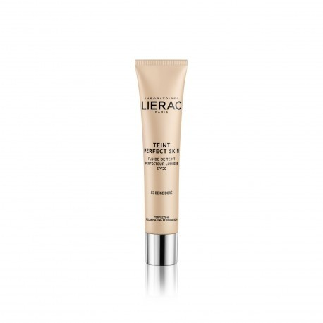 Lierac Teint Perfect Skin Fondotinta Fluido Perfezionatore Illuminante spf20 Colore 03 Beige Dorè