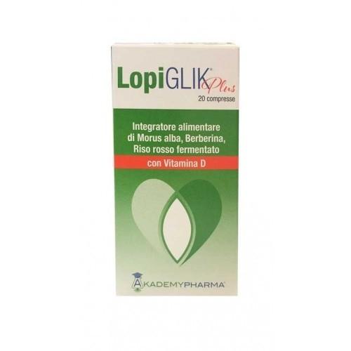 Akademy Pharma Lopi Glik Plus 20 compresse