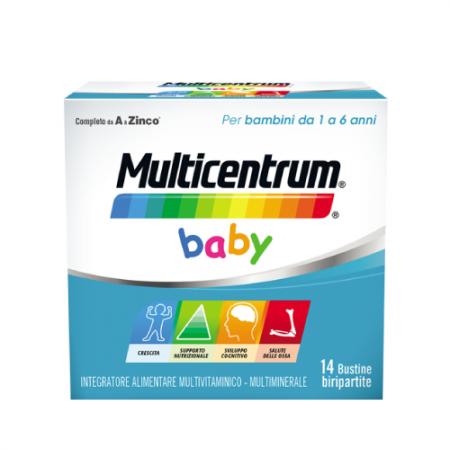 Pfizer Multicentrum Baby 14 bustine effervescenti