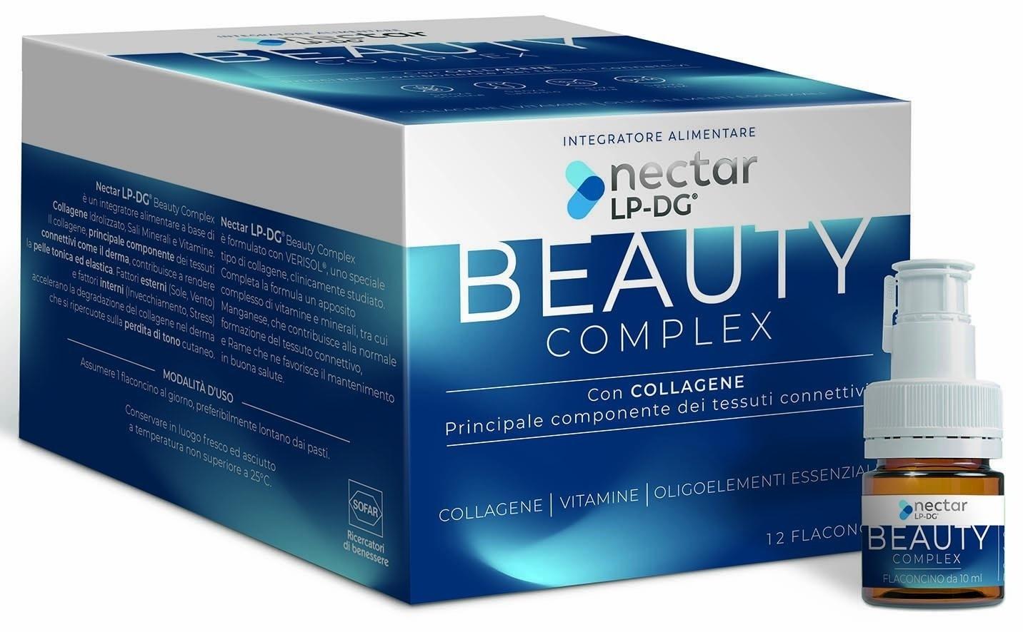 Sofar Nectar Lp Dg Beauty Complex 12 Flaconcini 10 ml