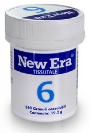 Named New Era Tissutale 6 240 mini compresse orosolubili