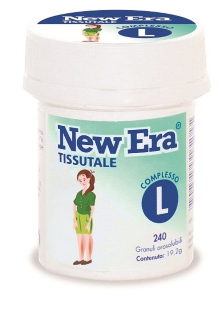 Named New Era Tissutale Complesso L 240 mini compresse orosolubili