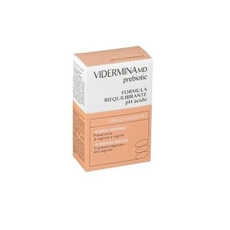 Vidermina MD Prebiotic Ovuli Vaginali 10 pezzi