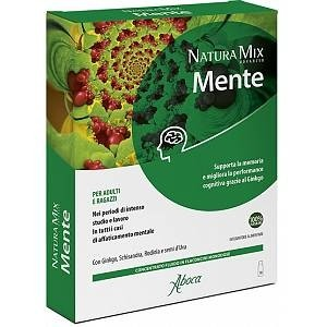 Aboca Natura Mix Advanced Mente 10 Fiale