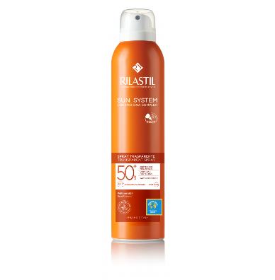Rilastil Sun System Spray Trasparente Spf 50+ 200ml