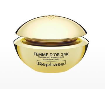 Rephase Femme D'or 24K Trattamento Rimodellante Illuminante 50ml