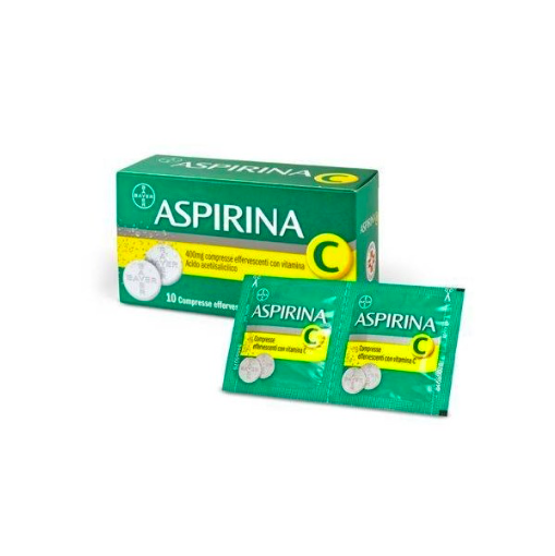 Aspirina c*10 compresse effervescenti 400+240mg