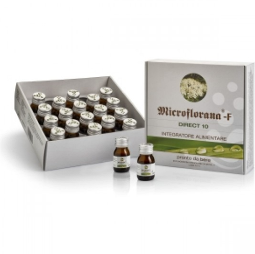 Named Microflorana-F Direct-10 20 Flaconcini Monodose 20x25ml