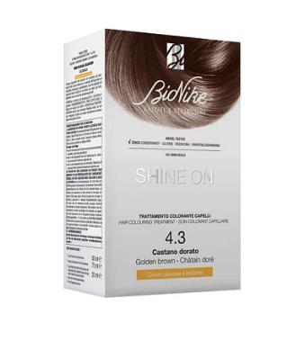 Bionike Shine On Trattamento Colorante Capelli - 4.3 Castano Dorato -