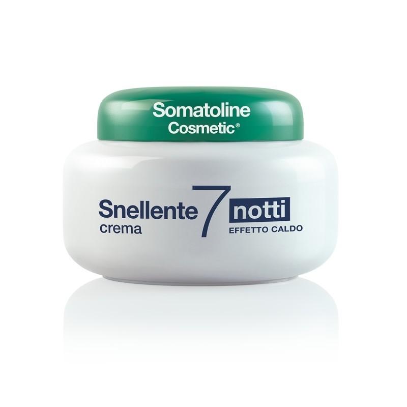 Somatoline Cosmetic Snellente 7 Notti Crema Effetto Caldo 250ml