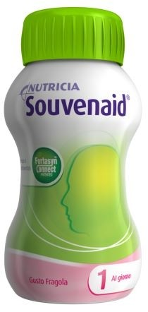 Nutricia Souvenaid Integratore Alimentare Gusto  Fragola 4x125ml