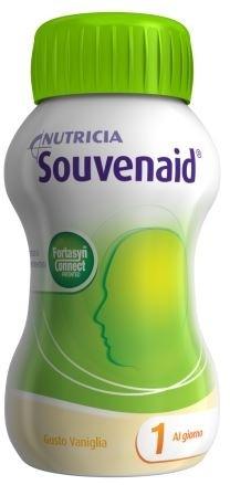Nutricia Souvenaid Integratore Alimentare Gusto Vaniglia 4x125ml