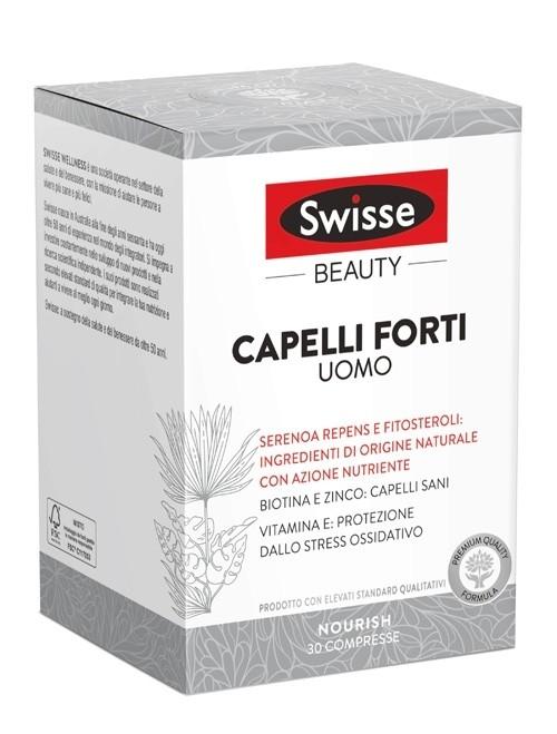 Swisse Capelli Forti Uomo Integratore Alimentare 30 compresse