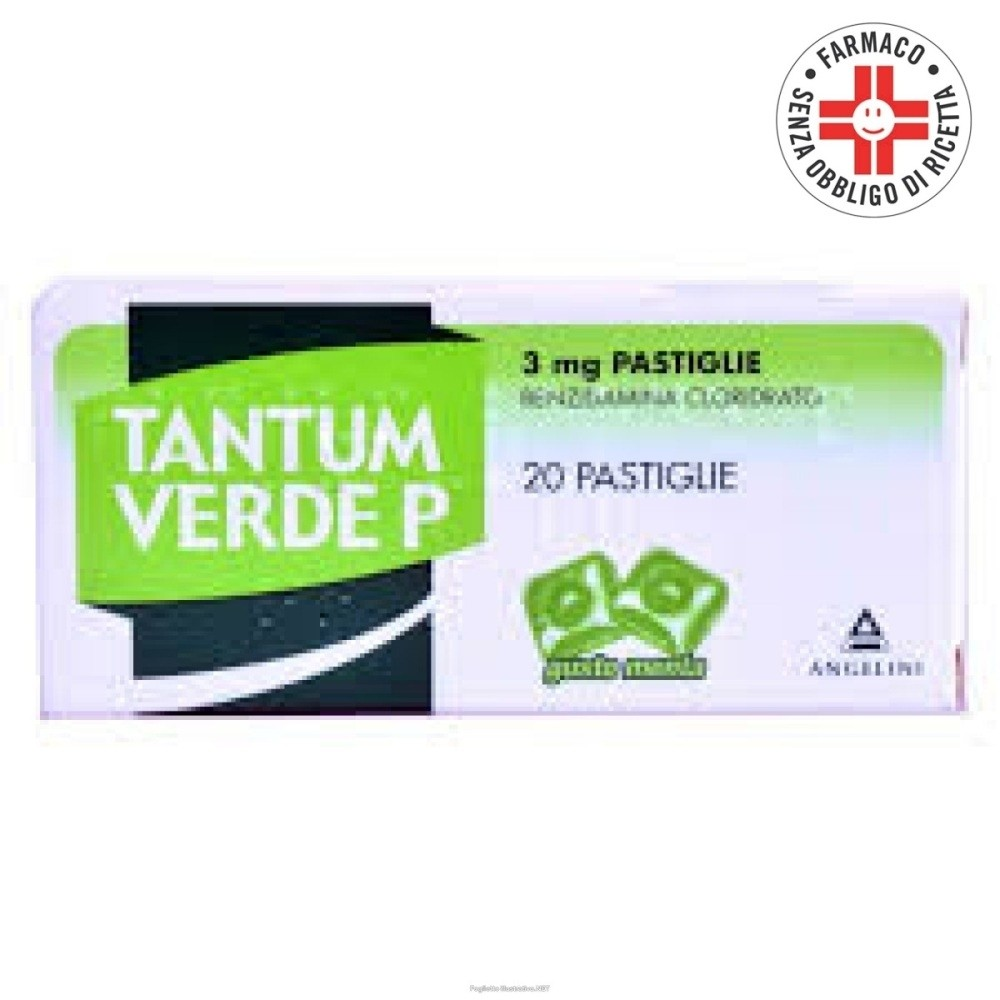 Tantum Verde P* 20 pastiglie 3mg gusto menta