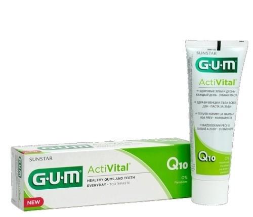 Sunstar Gum ActiVital Dentifricio Gel 75ml