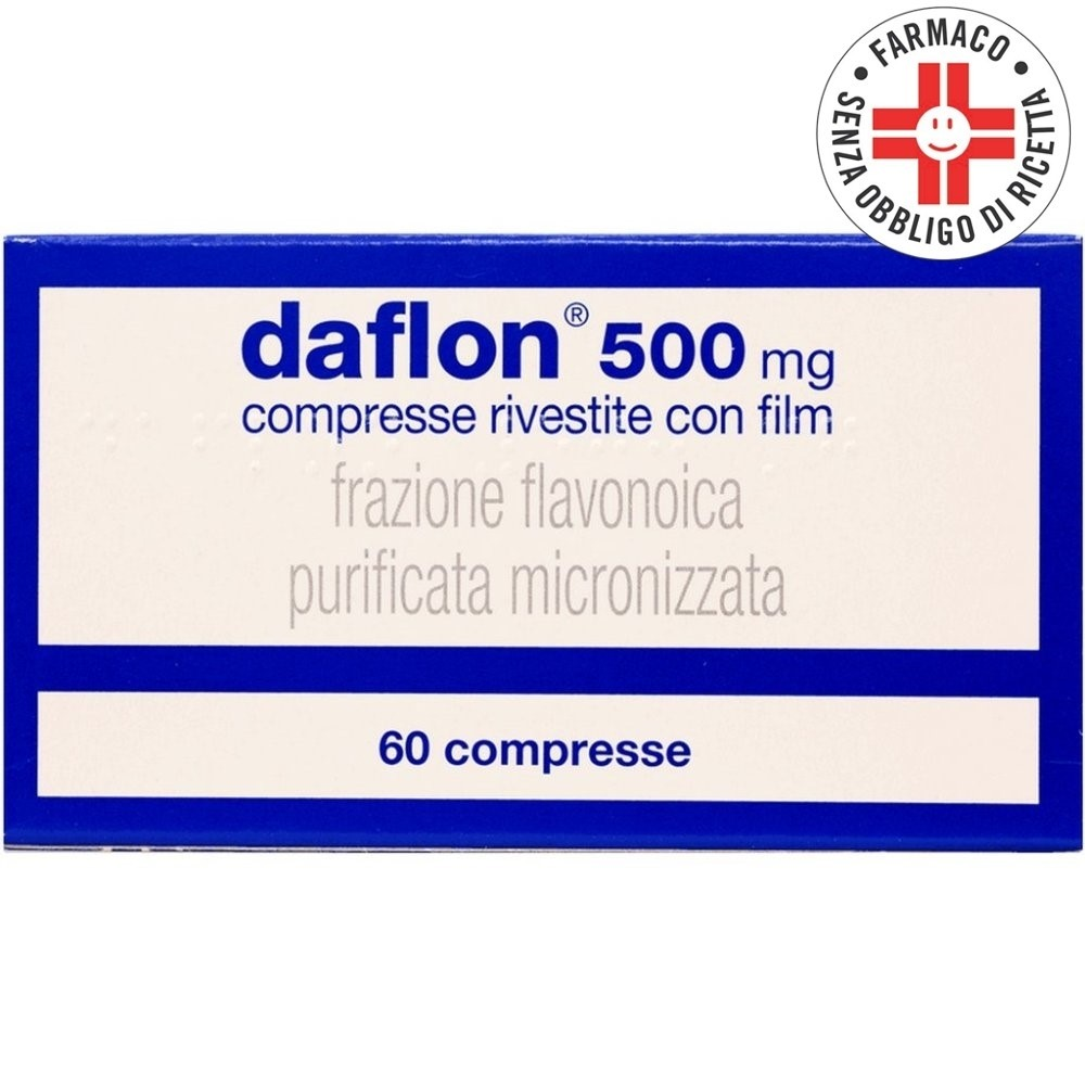Daflon* 500mg 60 compresse rivestite