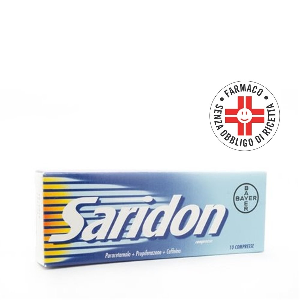 Saridon* 10 Compresse