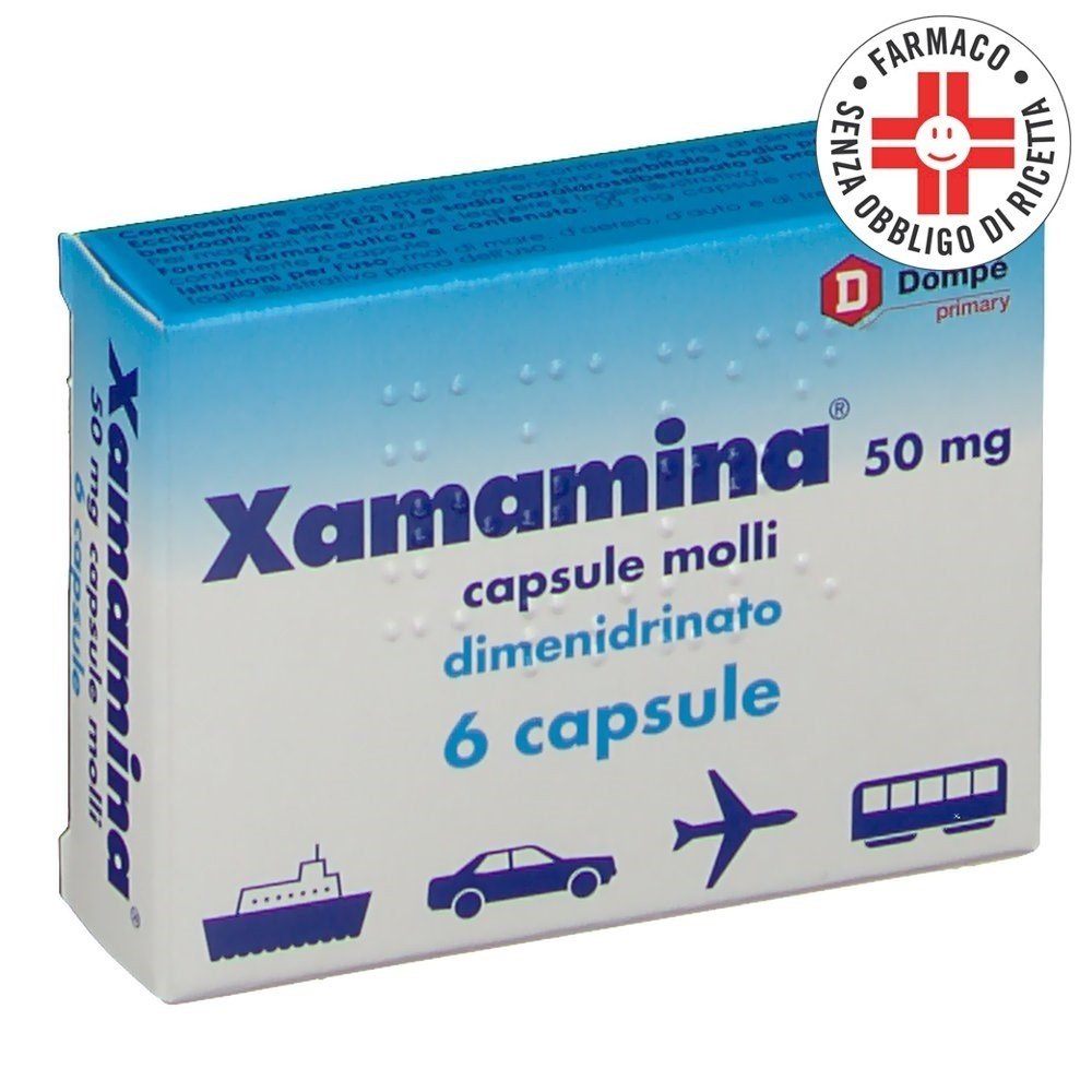 Xamamina*6cps 50mg