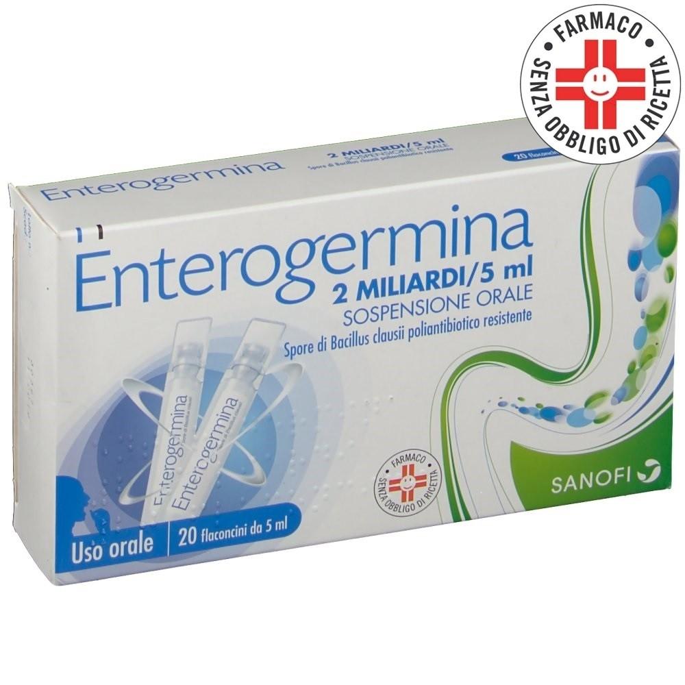 Enterogermina* 2 Miliardi 20 flaconcini 5ml