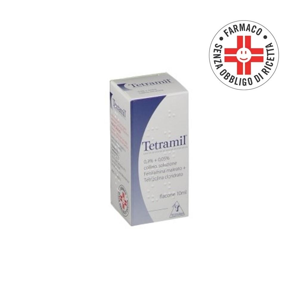 Tetramil* Coll flacone 10ml 0,3+0,05%