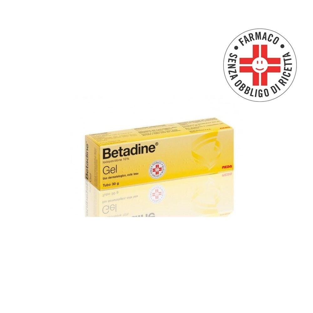 Betadine* Gel 100gr 10%