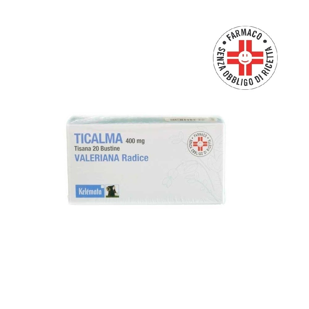 Ticalma* tisana 20 bustine 400mg
