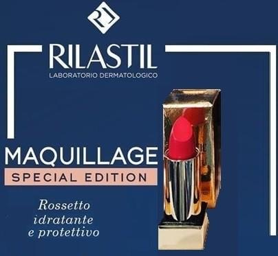Rilastil Maquillage Rossetto idratante e protettivo Rosa Corallo 35 4ml